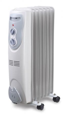 Масляный радиатор Sinbo SFH 3321 1500 Вт белый обогреватель масляный sinbo sfh 3321 1500вт белый