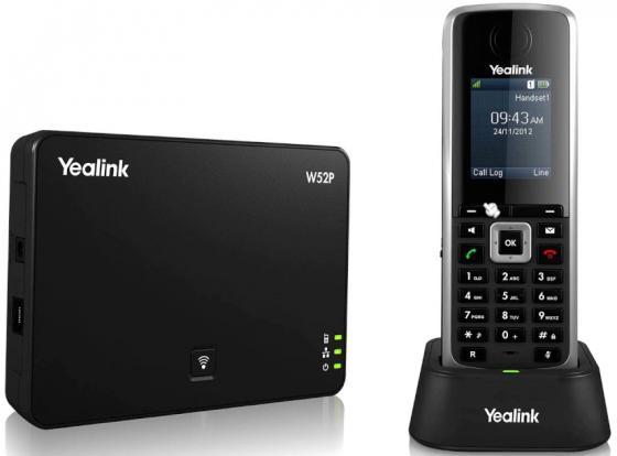 Телефон IP/Dect Yealink W52P 5 SIP-аккаунтов 1.8 LCD телефон dect yealink w52h dect дополнительная sip трубка