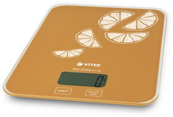 Весы кухонные Vitek VT-2416 OG оранжевый цена