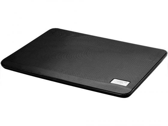 "все цены на Подставка для ноутбука 14"" Deepcool N17 330x250x25mm 1xUSB 465g 21dB черный"