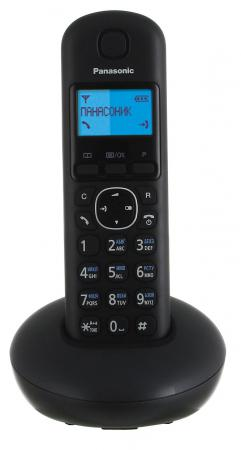 Радиотелефон DECT Panasonic KX-TGB210RUB черный радиотелефон dect panasonic kx tg8051rub черный