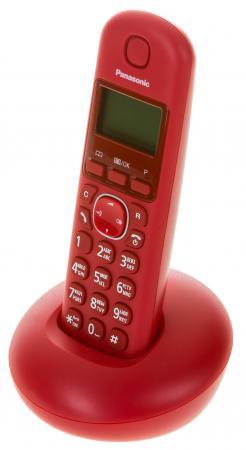 Радиотелефон DECT Panasonic KX-TGB210RUR красный радиотелефон panasonic kx tg8551 белый kx tg8551ruw