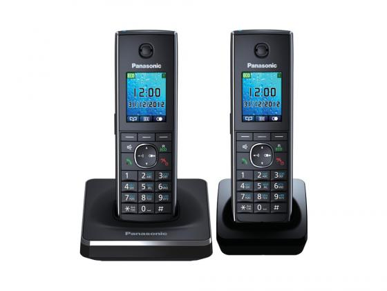 Радиотелефон DECT Panasonic KX-TG8552RUВ черный