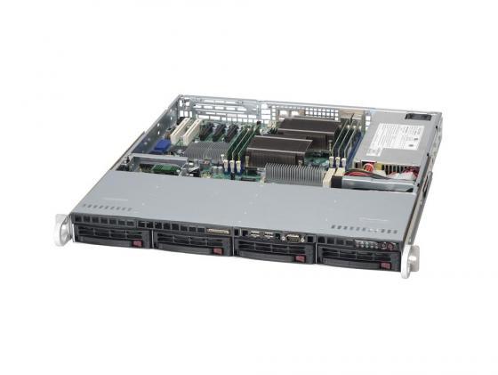 все цены на Серверный корпус 1U Supermicro CSE-813MTQ-600CB 600 Вт чёрный