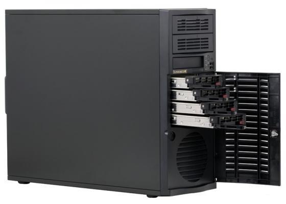 Серверный корпус E-ATX Supermicro CSE-733TQ-500B 500 Вт чёрный