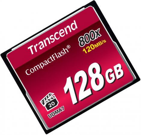 Фото - Карта памяти Compact Flash Card 128GB Transcend 800x TS128GCF800 карта памяти transcend ts128gcf800