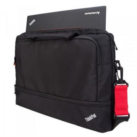 """Сумка для ноутбука 15.6"""" Lenovo 4X40E77328 синтетика черный цена и фото"""