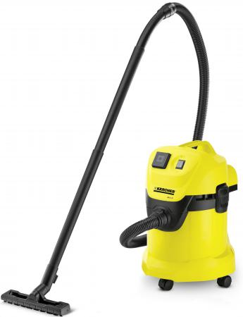 Пылесос Karcher MV 3 P/WD 3 P с мешком сухая уборка 1400Вт желтый 1.629-880.0  пылесос karcher wd 3 p 1 629 880 0