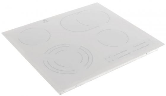 Варочная панель электрическая Electrolux EHF96547SW белый встраиваемая электрическая варочная панель electrolux ehf 96547 sw