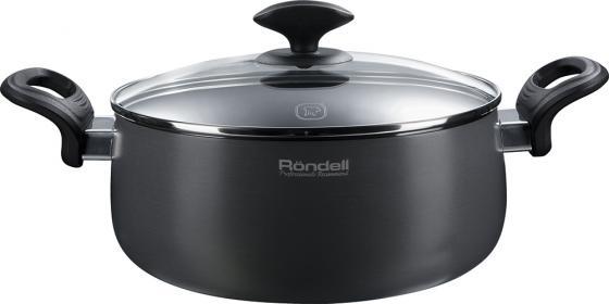 Кастрюля Rondell Weller RDA-066 круглая 20 см (3.2 л) rondell кастрюля weller 3 2 л 20 см с крышкой rda 066 rondell
