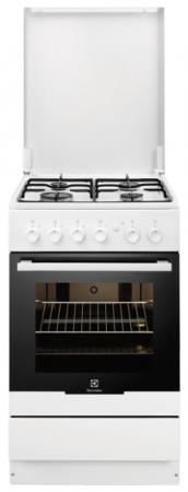 Газовая плита Electrolux EKG951106W белый цена и фото