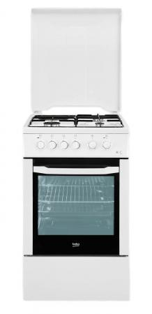 Комбинированная плита Beko CSS 53010 GW белый