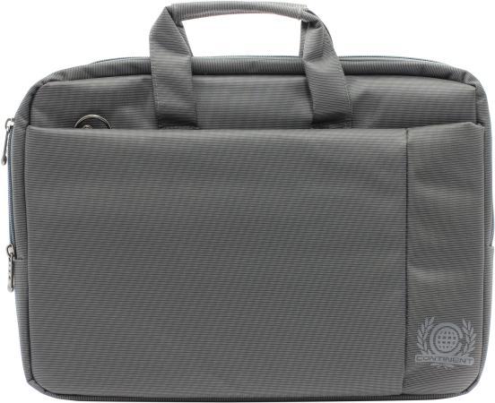 Сумка для ноутбука 15.6 Continent CC-215 GR полиэстер серый