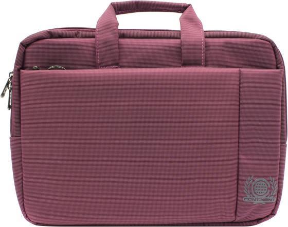 """Сумка для ноутбука 15.6"""" Continent CC-215 PP полиэстер розовый цена и фото"""