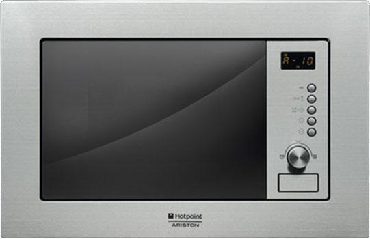 Встраиваемая микроволновая печь Ariston MWA 121.1 X/HA 800 Вт серебристый встраиваемая микроволновая печь hotpoint ariston mwa 121 1 x ha