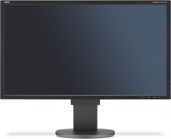 Монитор 21.5 NEC EA224WMi белый IPS 1920x1080 250 cd/m^2 14 ms VGA HDMI DisplayPort DVI Аудио USB монитор nec e241n bk черный ah ips 1920x1080 250 cd m^2 6 ms hdmi displayport vga аудио