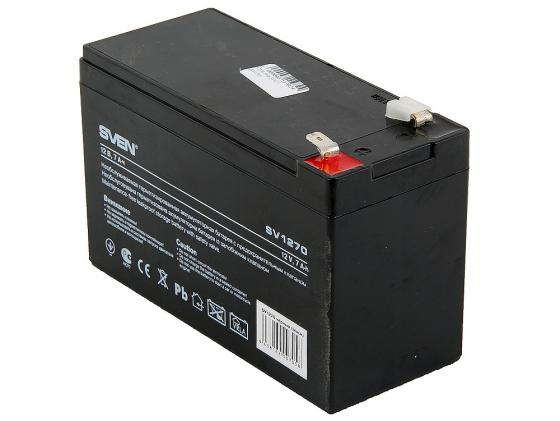 Батарея для ИБП Sven SV1270 12В/7А батарея sven sv1272 12v 7 2ah