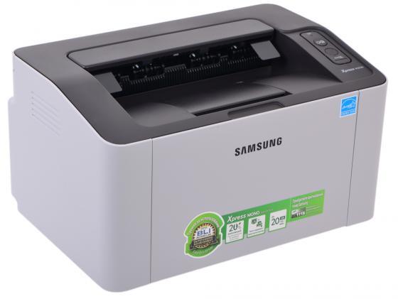 Принтер Samsung SL-M2020W ч/б A4 20стр.мин 1200x1200dpi Wi-Fi USB SL-M2020W/XEV/FEW
