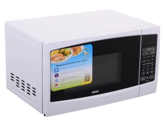 Микроволновая печь BBK 20MWG-741S/W 700 Вт белый микроволновая печь свч bbk 20 mwg 735 s w белый