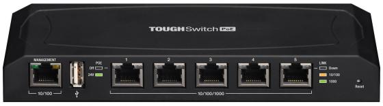 Коммутатор Ubiquiti TOUGHSwitch PoE 5 портов 24V Passive PoE TS-5-POE(EU)