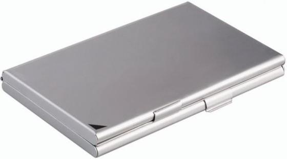 Визитница Durable 243323 20 шт серебристый визитница durable business card box 20 шт серебристый 2415 23