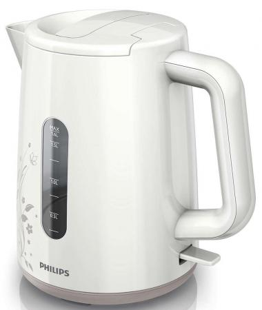 Чайник Philips HD 9310/14 2400 Вт бежевый белый 1.6 л пластик