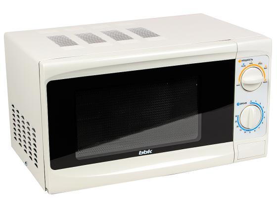 Микроволновая печь BBK 20MWS-703M/W 700 Вт белый bbk 20mws 712m wb белый черный