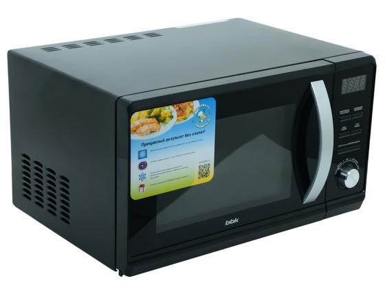 Микроволновая печь BBK 23MWG-851T/B — чёрный микроволновая печь bbk 23mws 927m w 900 вт белый