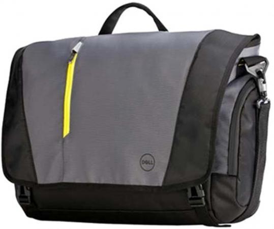 Сумка для ноутбука 17 DELL 460-BBKO полиэстер нейлон черный серый сумка для ноутбука 14 dell 460 bcbf синтетика черный