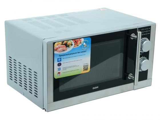 Микроволновая печь BBK 23MWG-923M/BX 900 Вт серебристый цена и фото