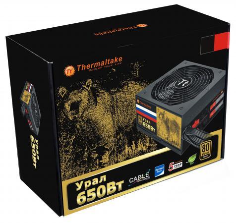 все цены на Блок питания ATX 650 Вт Thermaltake W0426RE Ural 80+ онлайн
