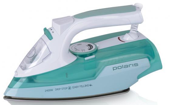 Утюг Polaris PIR2466K 2400Вт бирюзовый  polaris утюг pir2466k 2400вт