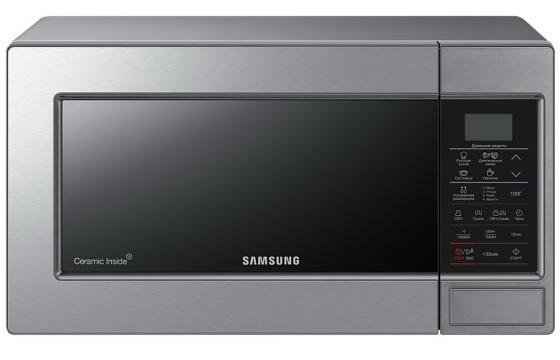 Микроволновая печь Samsung GE83MRTS 800 Вт серебристый микроволновая печь lg mh6044v 800 вт серебристый
