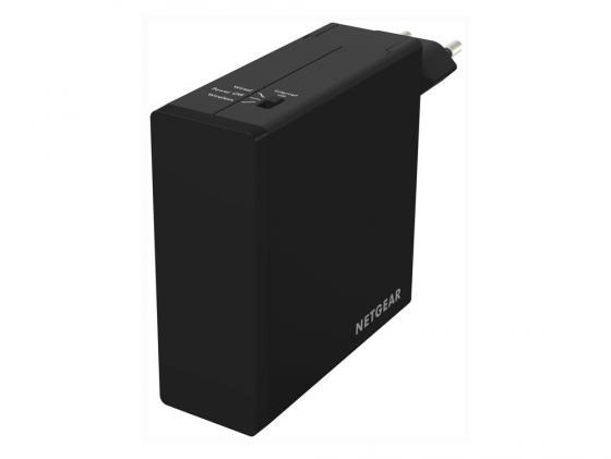 Беспроводной маршрутизатор NetGear PR2000-100EUS 802.11bgn 300Mbps 2.4 ГГц 2xLAN USB microUSB черный цена в Москве и Питере