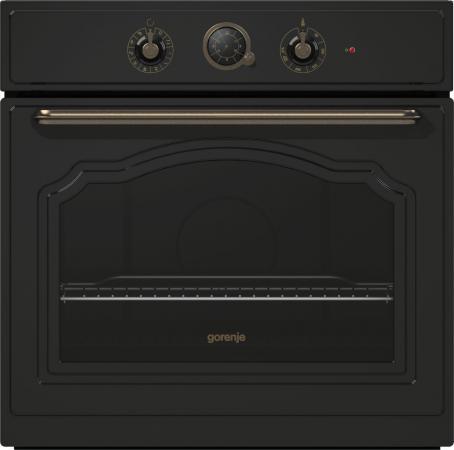 Электрический шкаф Gorenje BO73CLB черный gorenje tg30ngb6