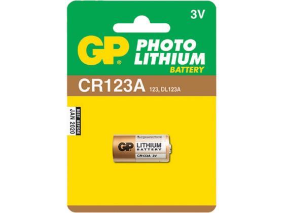 все цены на Батарейки GP CR123A CR123A 1 шт онлайн