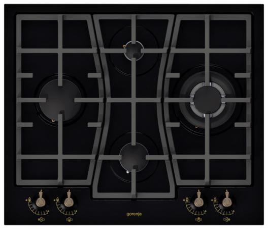 Варочная панель газовая Gorenje GW65CLB черный варочная панель газовая gorenje g6sy2b черный