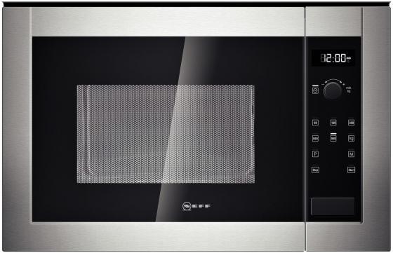 Микроволновая печь NEFF H12WE60N0 800 Вт серебристый встраиваемая микроволновая печь neff h11we60n0 800 вт серебристый