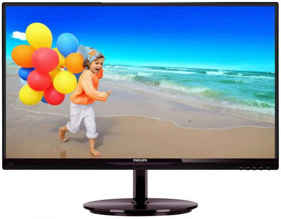 Монитор 23 Philips 234E5QSB 00/01 черный AH-IPS 1920x1080 250 cd/m^2 14 ms DVI VGA philips 234e5qsb