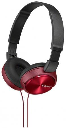 все цены на  Наушники Sony MDR-ZX310APR красный  онлайн