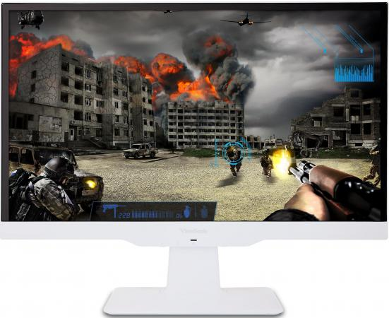 Монитор 23 ViewSonic VX2363SMHL-W белый IPS 1920x1080 250 cd/m^2 2 ms HDMI VGA Аудио монитор viewsonic vx2363smhl w white led