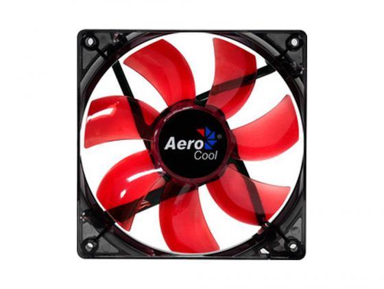 Вентилятор Aerocool Lightning 120mm красная подсветка 4713105951363 цена и фото