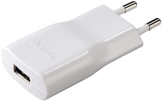 Сетевое зарядное устройство Hama H-14133 2.1A USB белый hama hama h 108726