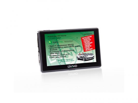 Навигатор LEXAND SA5+ 5 480x272 4Gb microSD черный Navitel