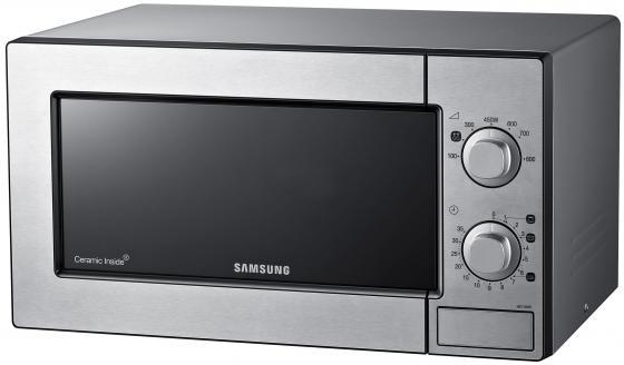 Микроволновая печь Samsung ME81MRTS 800 Вт серебристый