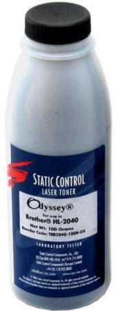 Фото - Тонер Static Control TRB2040-100B-OS для Brother HL2040 черный 100гр тонер static control trs1610 80b os для samsung ml1615 черный 80гр