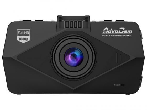 Видеорегистратор AdvoCam FD Black 2.7 1920x1080 170° G-Сенсор 3Mp microSD microSDHC автомобильный видеорегистратор advocam fd black ii gps глонасс