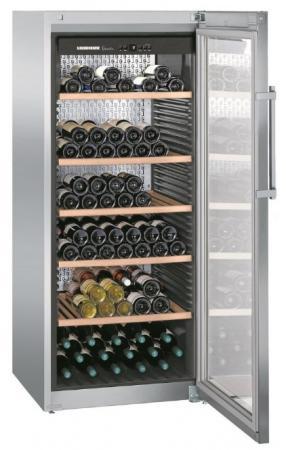 Винный шкаф Liebherr WKes 4552-20 001 серебристый винный шкаф liebherr wkt 4552