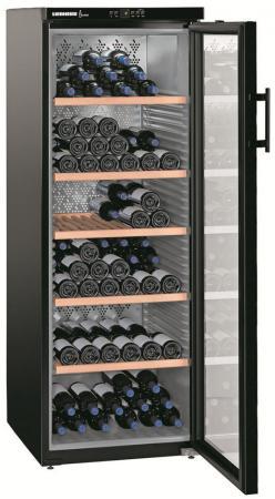 Винный шкаф Liebherr WKb 4212-20 001 черный от Just.ru