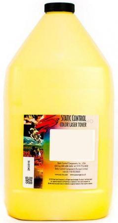 Фото - Тонер Static Control OKIUNIV-1KG-Y для Oki C3300N/5500 желтый 1000гр тонер static control okiuniv 1kg y для oki фл 1кг yellow